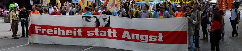 http://fsamuenchen.de Freiheit statt Angst